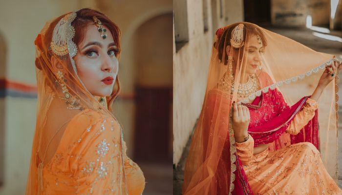 MUSLIM  bridal makeup images