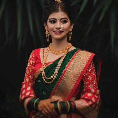 MAHARASHTRIAN BRIDAL MAKEUP Images